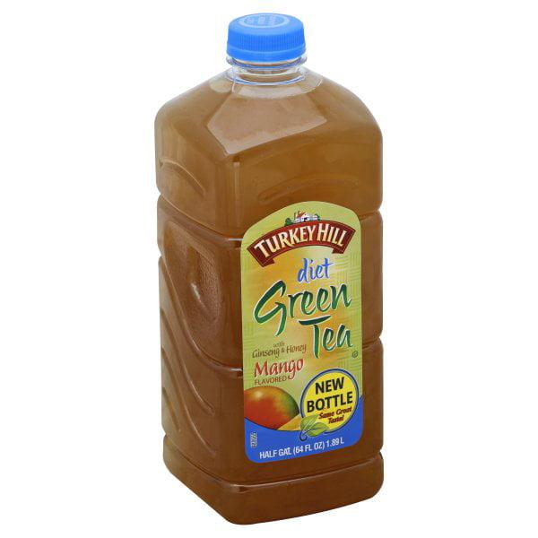 Turkey Hill Diet with Ginseng and Honey Mango Green Tea, Half Gallon