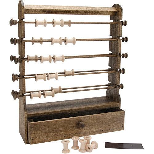 Edmunds Antique Thread Keeper, 12 by 3-1/2 by 16-Inch