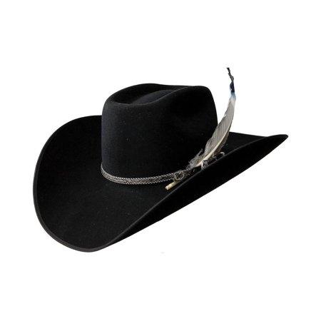 Resistol - Resistol Men s 4X Tuff Hedeman Bull Bash Felt Cowboy Hat -  Rwbashb7972 Black - Walmart.com ee8cfdab45ca