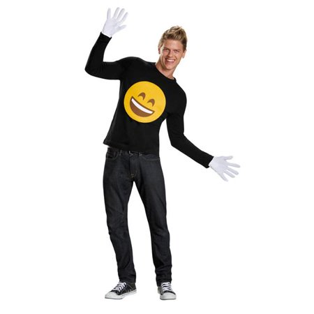 Morris Costumes DG85756 Emoticon Smile Kit Costume - Halloween Smiley Emoticons