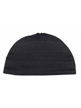 af40d2b674d Product Image TheKufi® Black Cotton Stretch-Knit Kufi Hat Skull Cap -  Comfortable Fit - Unique
