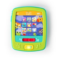 Bright Starts Lights & Sounds FunPad Musical Toy - Introduce Shapes, Colors, Numbers, Ages 3 months +