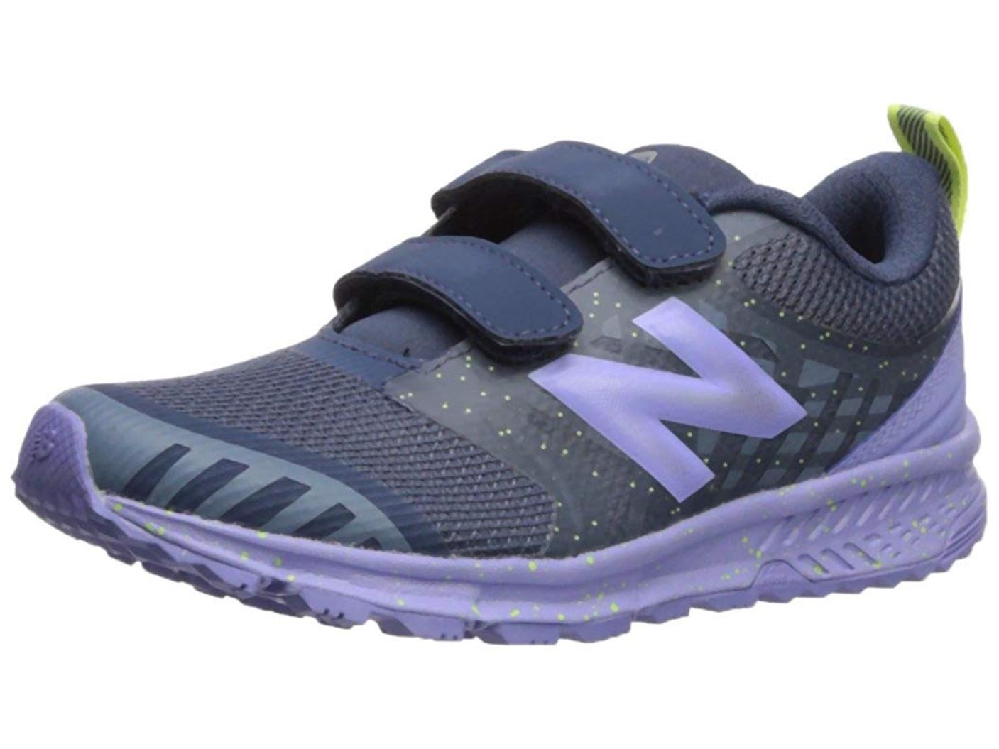 New Balance Kids/' Nitrel v3 Hook and Loop Trail Running Shoe