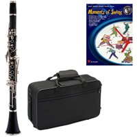 Moments of Swing Clarinet Pack - Includes Clarinet w/Case & Accessories & Moments of Swing Play Along Book