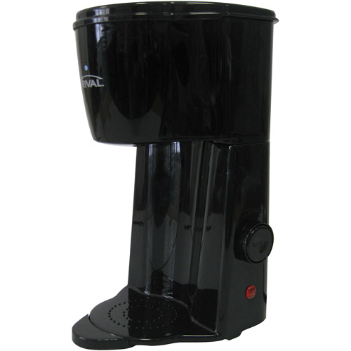 Rival Single Cup Coffee Maker, Black
