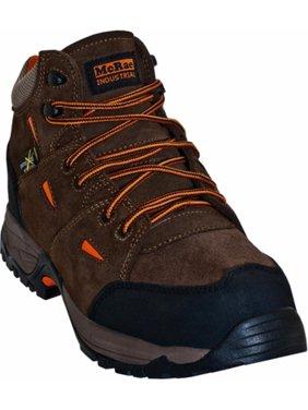 McRae Industrial Work Boots Mens Hiker Composite Toe Brown MR83701