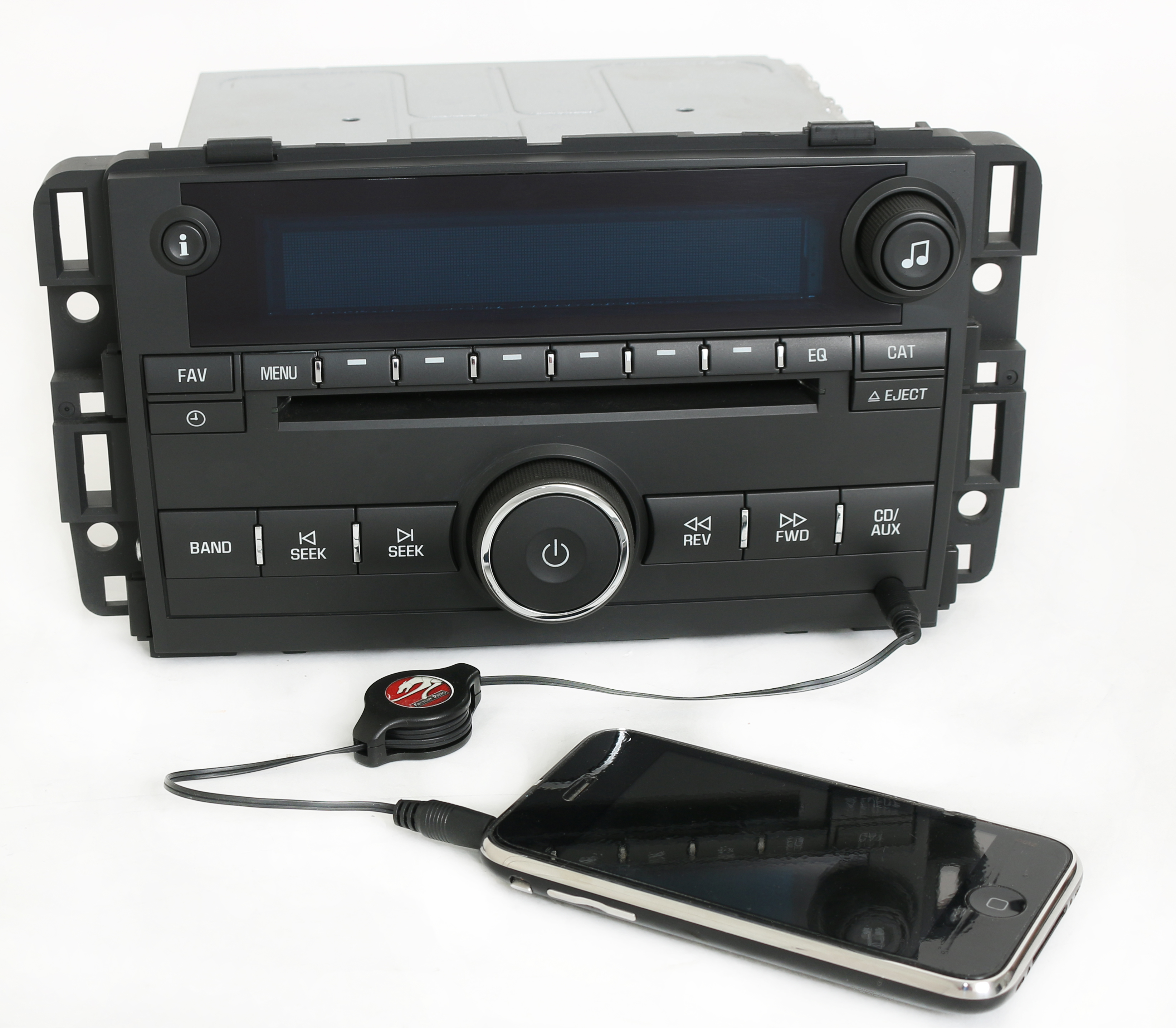 Click here to buy Chevy Impala 2011-12 Radio AM FM mp3 CD Player w Aux Input Part Number 20955156 Refurbished by GM.