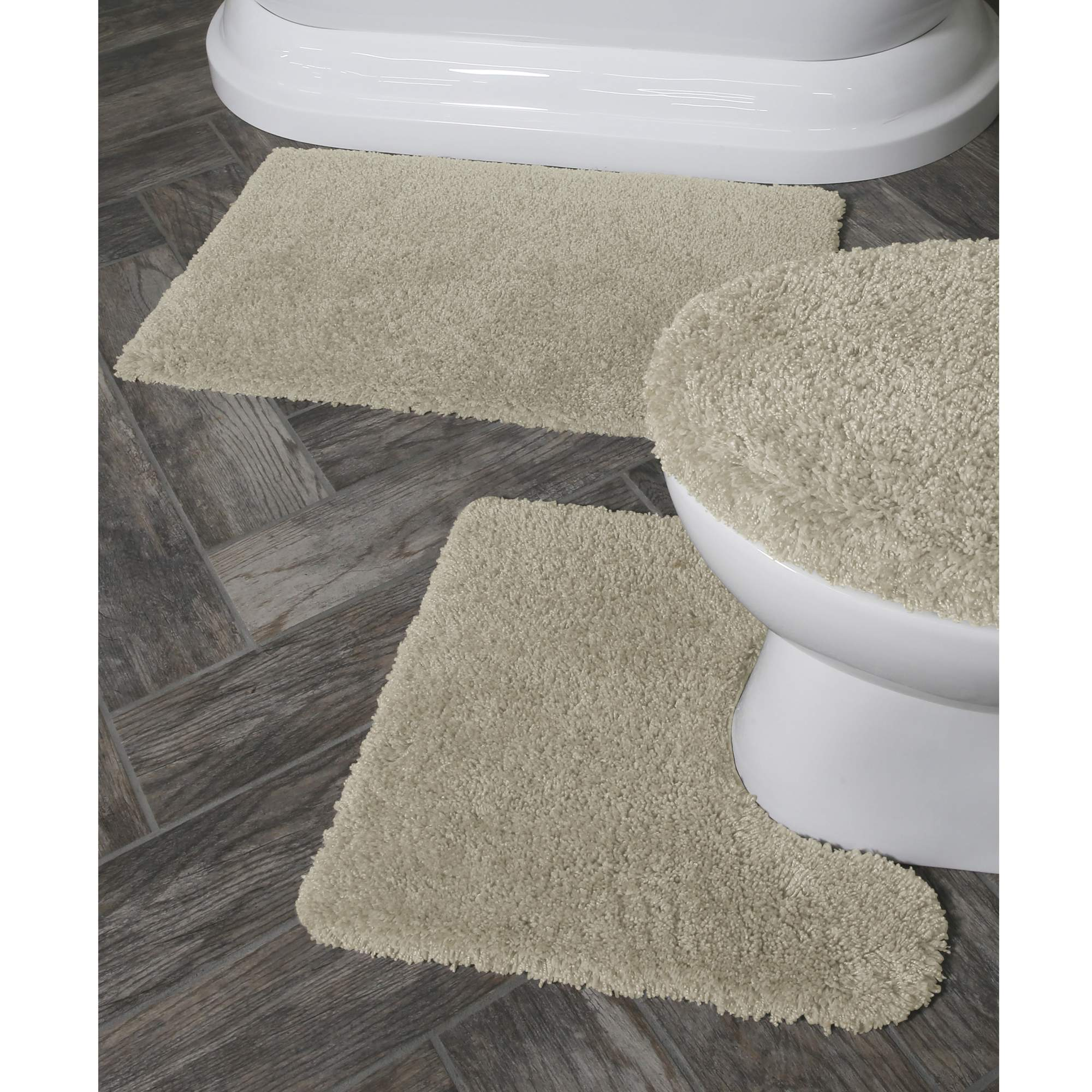 Better Homes And Gardens Thick And Plush 3 Piece Bath Rug Set   Walmart.com