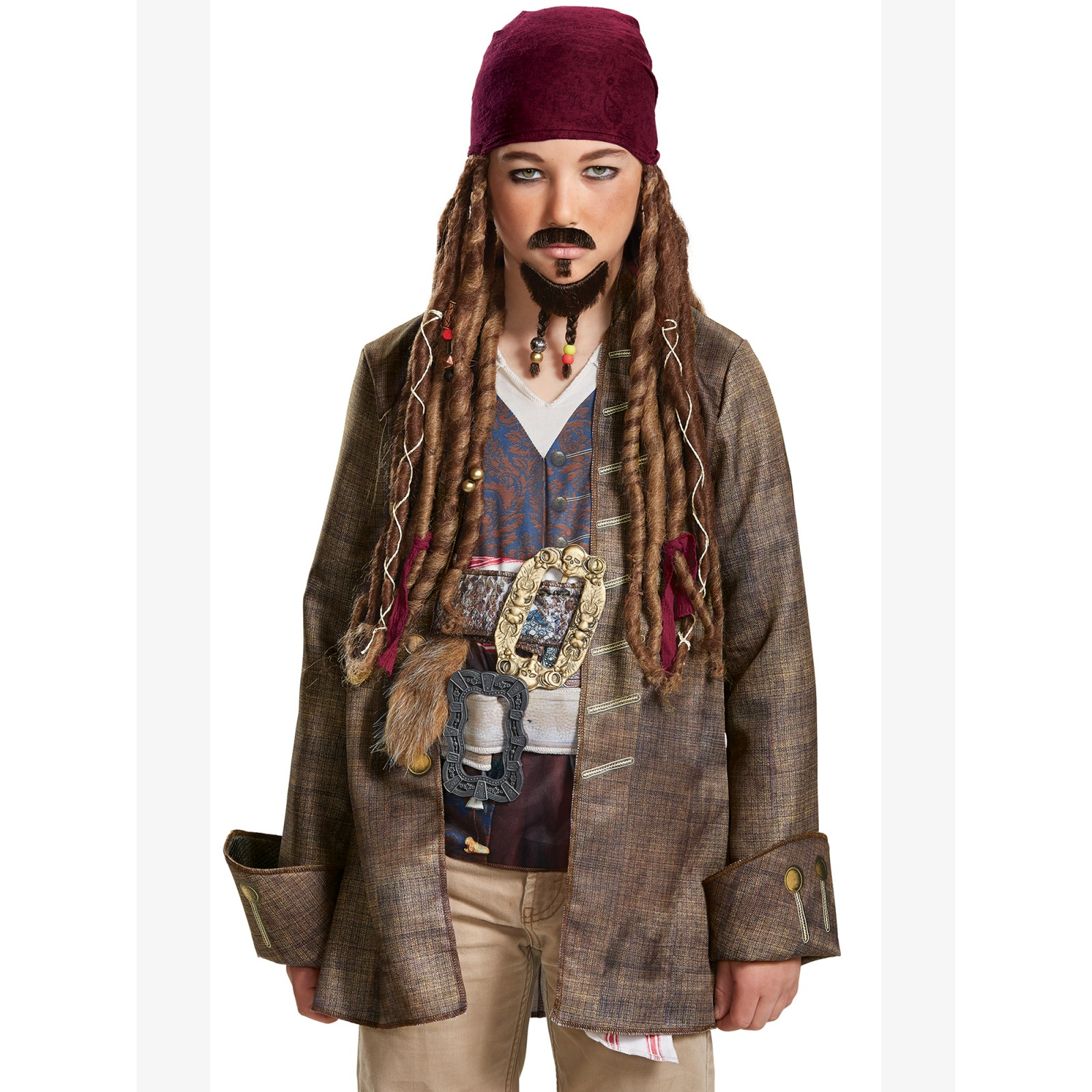 Pirates of the Caribbean 5: Child Goatee & Mustache by Disguise