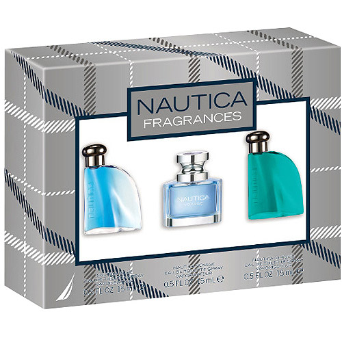 Nautica Fragrances Eau de Toilette Spray Gift Set, 3 pc