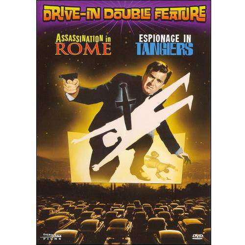 Drive-In Double Feature: Assassination In Rome / Espionage In Tangiers