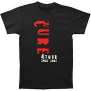 Cure Men's  North America & Mexico 2007 & 2008 Tour T-shirt Black