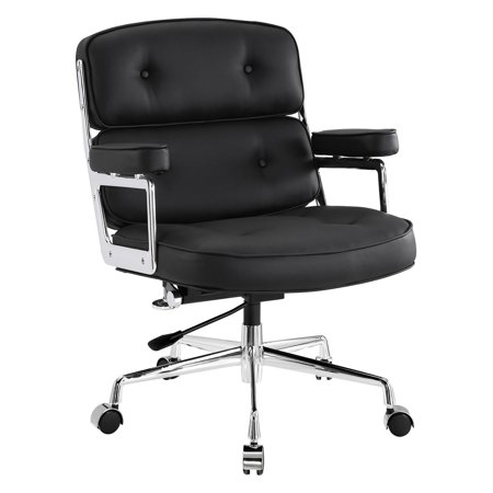 Modway Remix Leatherette Office Chair, Multiple Colors Director Leatherette Office Chair