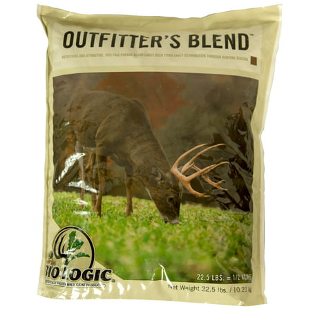 Mossy Oak BioLogic Outfitters Blend Food Plot Seed for (Easy To Grow Food Plots For Deer)