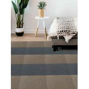 DIP Shade Carpet Tile Square 19.7 in. x 19.7 in. 16.2 sq ft/6 pack