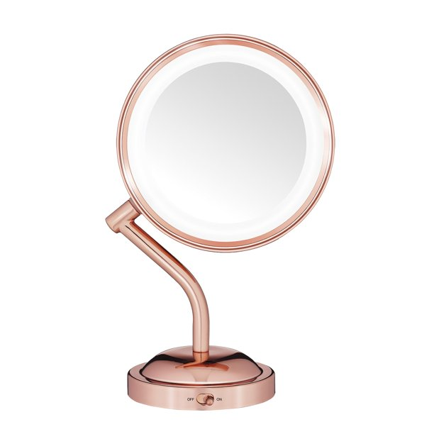 Conair Double-Sided Battery Operated Lighted Mirror ...