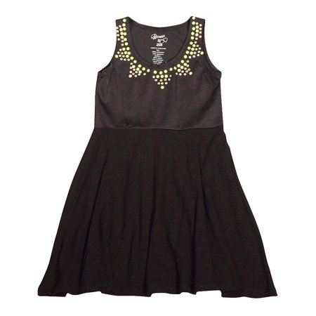 Flowers by Zoe - Big Girls Sleevelss Dress - 6 Styles to Choose Black Shimmer / 10](Shimmer Dresses)