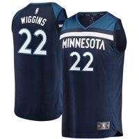 Andrew Wiggins Minnesota Timberwolves Fanatics Branded Youth Fast Break Replica Jersey Blue - Icon Edition