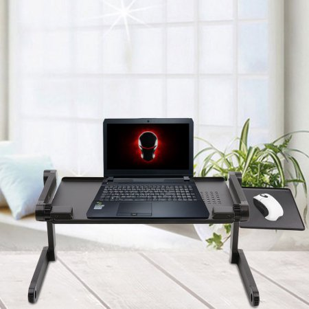 Adjustable Foldable Laptop Stand Desk Table Folding Aluminum Laptop Desk Laptop Table Tray Desk for bed