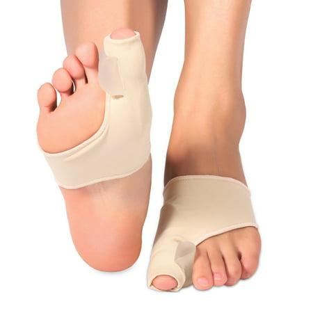 Yosoo 1 Pair Hallux Valgus Toes Corrector Big Toe Separator Protector Bunion Sleeve Straighteners Bunion Corrector Regulator Sock Feet Care Tool](Big Feet Man)