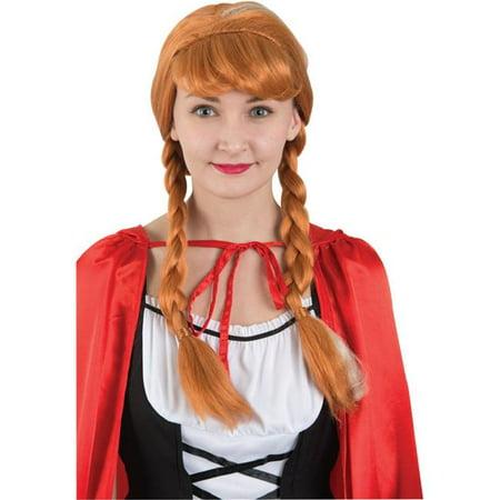Country Princess Wig - Banana And Orange Halloween Treats