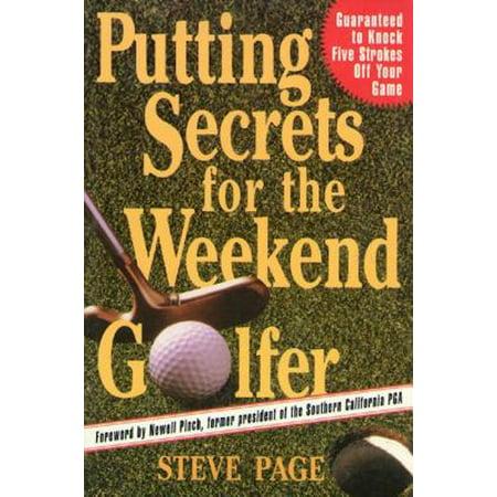 Putting Secrets for the Weekend Golfer - eBook