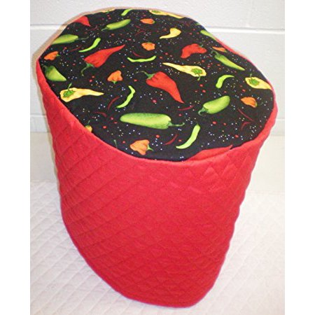 Quilted Hot Peppers Cover For Keurig K2 0 K200 Coffee Brewing System  Red