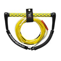Airhead DYNEEMA Flatline Tangle Free Wakeboard Rope, 70 ft, Electric Yellow