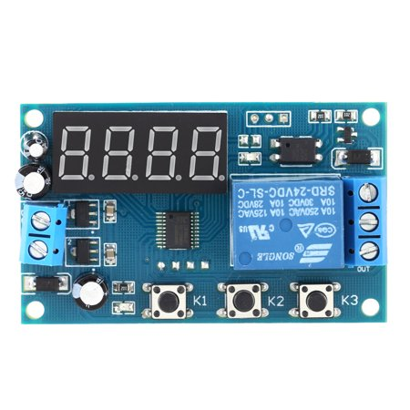 Multifunction Delay Time Module Switch Control Relay Cycle Timer DC - Multi Use Relay