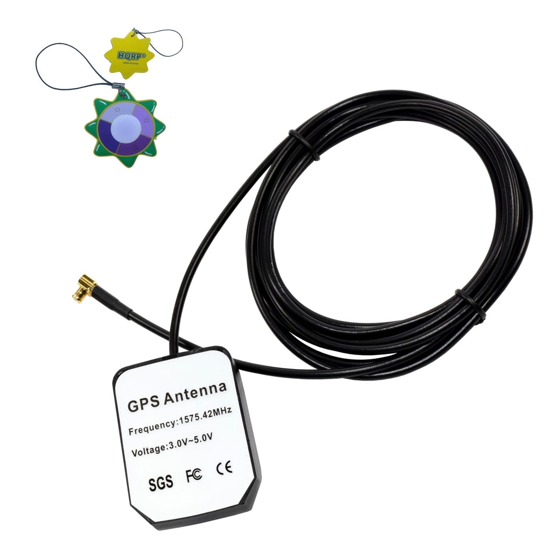 HQRP External GPS Antenna for TomTom Go 510 (510) / TomTom Go 700 / TomTom Go 720 / TomTom Go 910 (go 910) Antenna Replacement + HQRP UV Meter