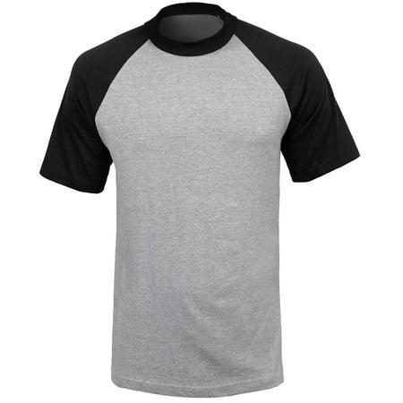 b3f85f4a24b Ma Croix - Mens CONTRAST RAGLAN SHORT SLEEVE T Shirts Short Sleeve Baseball  Jersey Casual Sport Tee - Walmart.com
