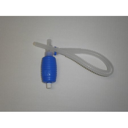"""Hydrotools Cover - HydroTools Blue and White Cover Saver Siphon Replacement Hand Held Pump Swimming Pool Accessory 13"""""""
