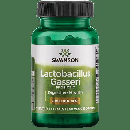 Swanson Lactobacillus Gasseri Probiotic Vegetable Capsules, 3 Billion CFU, 60 Ct