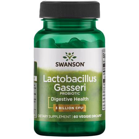 Swanson Lactobacillus Gasseri 3 Billion Cfu 60 Veg (Swanson Products)