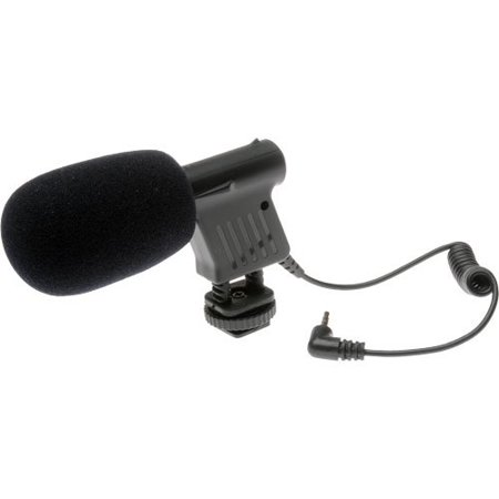 Vidpro Mini Condenser Microphone for DSLRs, Camcorders & Video (Video Camera Mic)