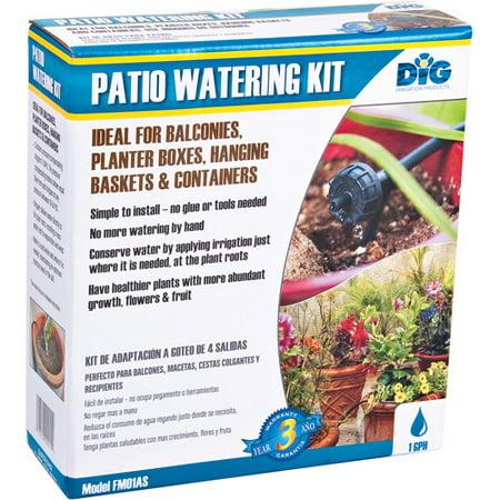 Patio Container Drip Irrigation Watering Kit Walmart Com