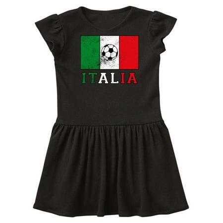 Italian Soccer Toddler Dress