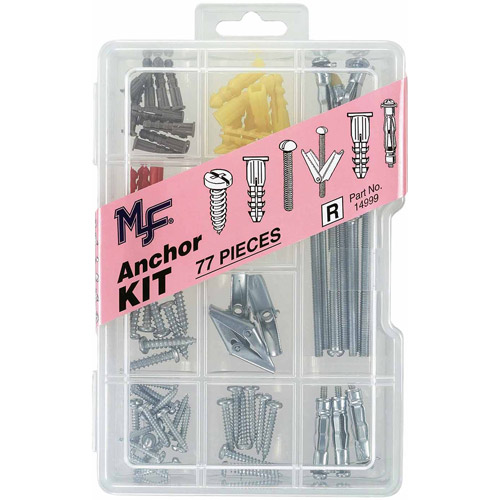 Midwest Fastener Corp 77pc Anchor Assortment Kit