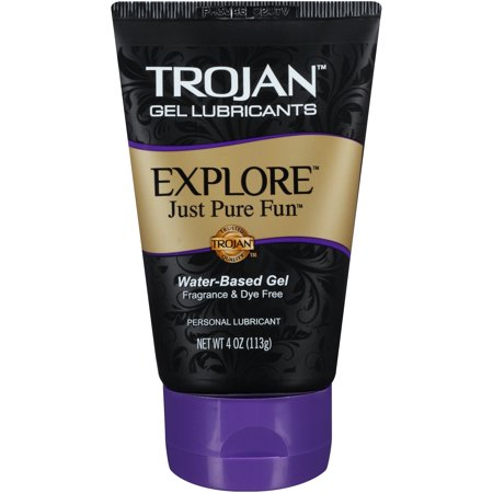 - Trojan Explore Water Based Lubricant Gel - 4 oz