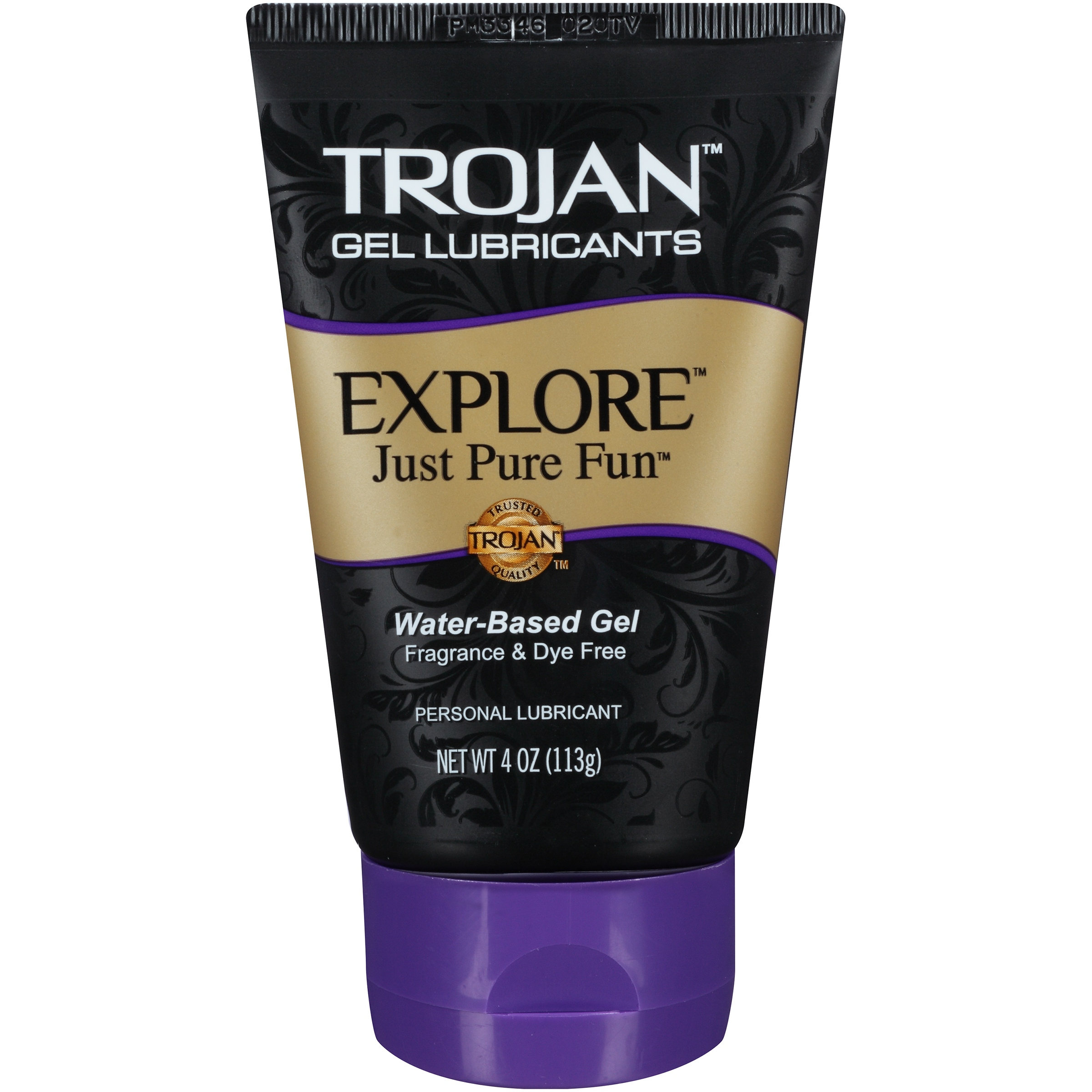 Trojan Explore Water Based Lubricant Gel - 4 oz