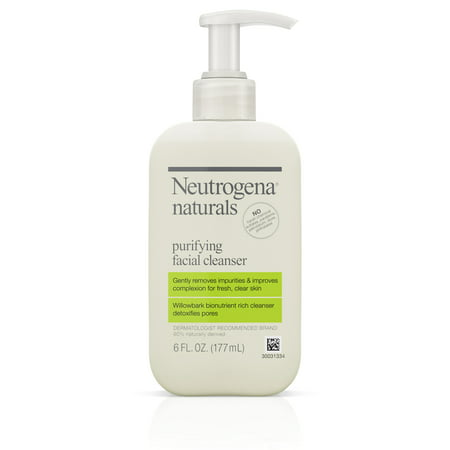 Neutrogena Naturals Purifying Face Wash with Salicylic Acid, 6 fl.