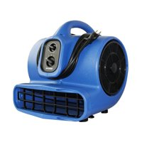 XPOWER X-800TF 3/4 HP 3200 CFM 3 Speed Air Mover, Floor Fan, Dryer, Blower with Timer and Filter Kit