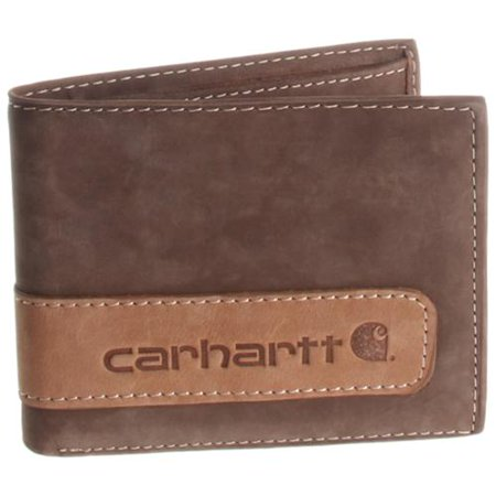 Mens Leather Two Tone Bifold Wallet