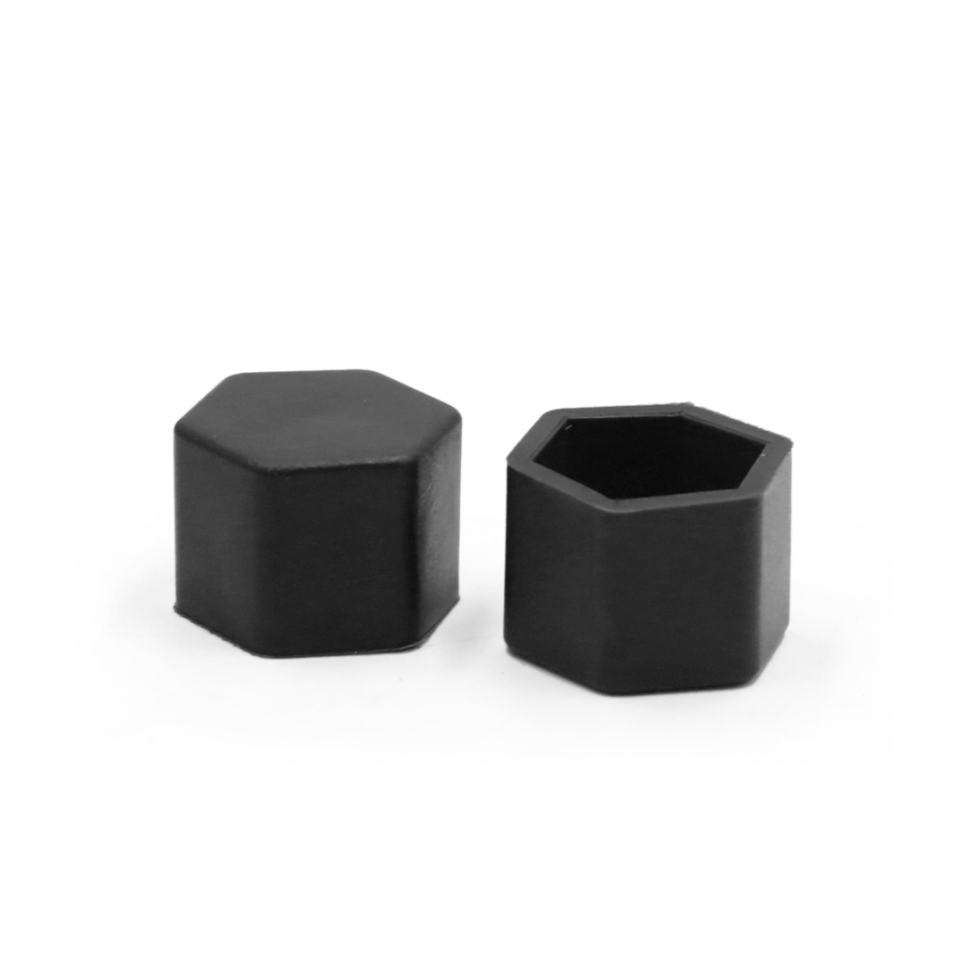 20Pcs Black Silicone 19mm Car Wheel Nut Lug Hub Covers Screw Dust Protect Caps - image 2 of 4