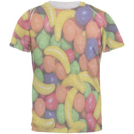 Halloween Fruit Candy Mens T Shirt