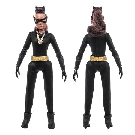 Batman Classic 1966 TV Series Action Figures Series 6: Catwoman (Eartha) [Loose In Factory - Catwoman Batman