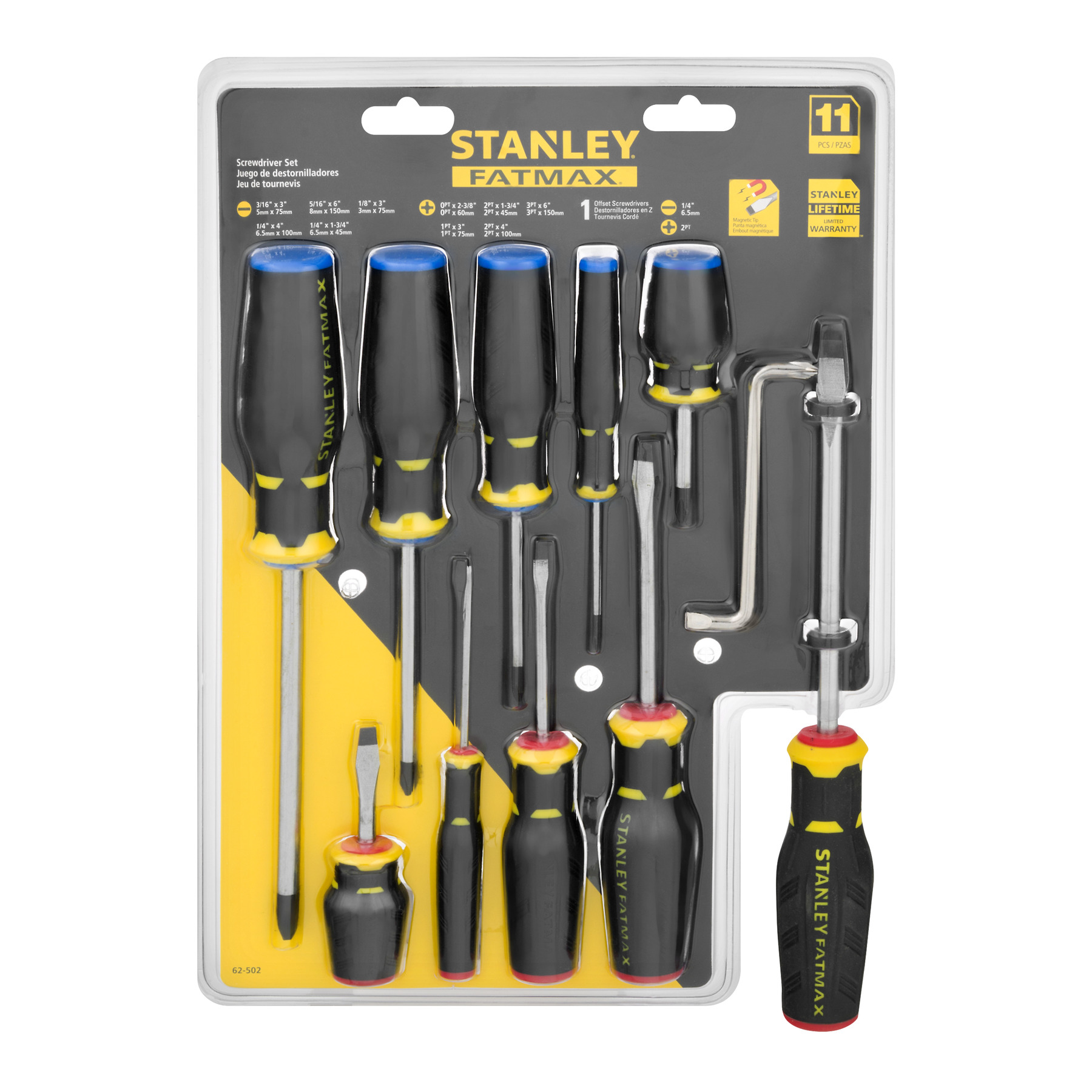 Stanley FatMax Screwdriver Set - 11 PC, 11.0 PIECE(S)