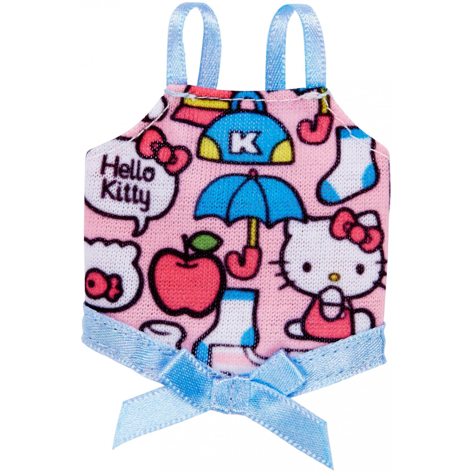 Barbie Hello Kitty Pink W Blue Bow by Mattel