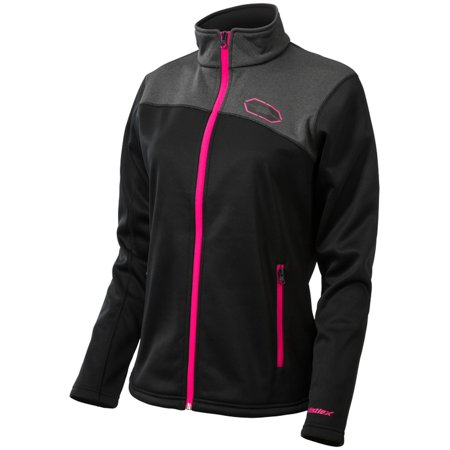 Castle X Fusion G2 Womens Mid-Layer Jacket Black/Magenta (Fusion Motorcycle)