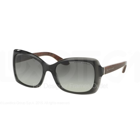 RALPH LAUREN Sunglasses RL 8134 553611 Transparent Black (Ralph Lauren Havana Sunglasses)